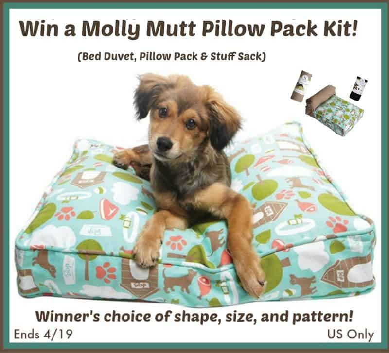 #Win a Molly Mutt Pillow Pack in Choice of Size & Color! - ends 4/19 US Only