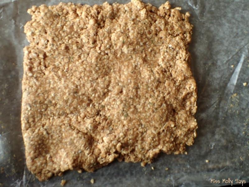 Peanut Butter and Oregano Dog Treats process 5