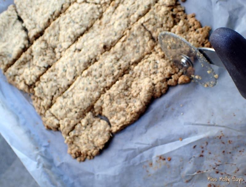 Peanut Butter and Oregano Dog Treats process 6