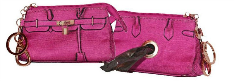 Stylish Pooch Pickup Pouch and Wristlet from A Pet with Paws!