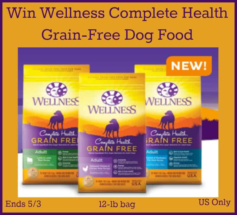 Win Wellness Complete Health Grain Free Dog Food Ends