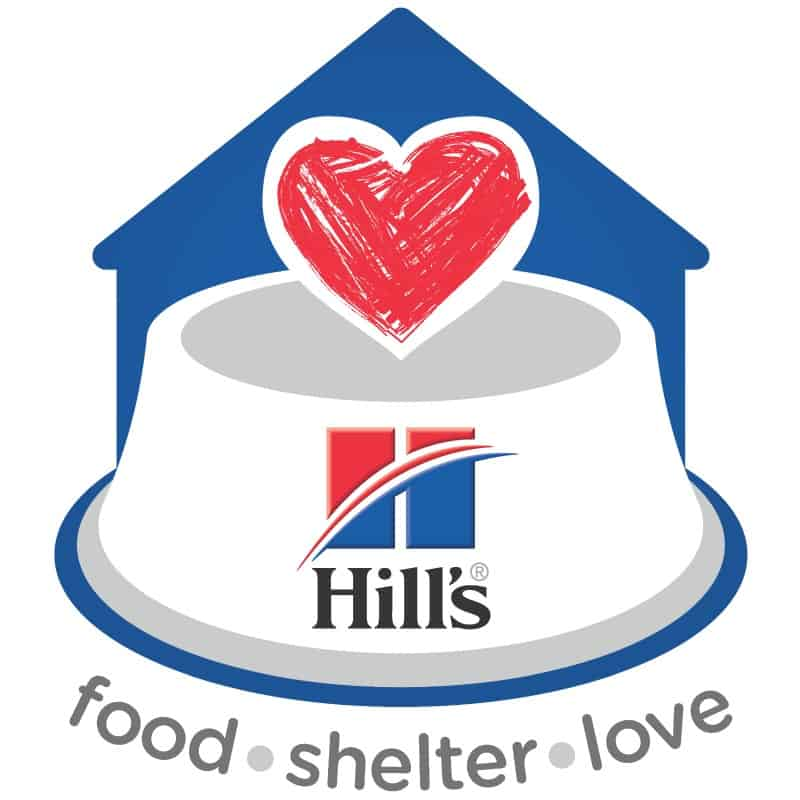 Hill's Food, Shelter, Love logo