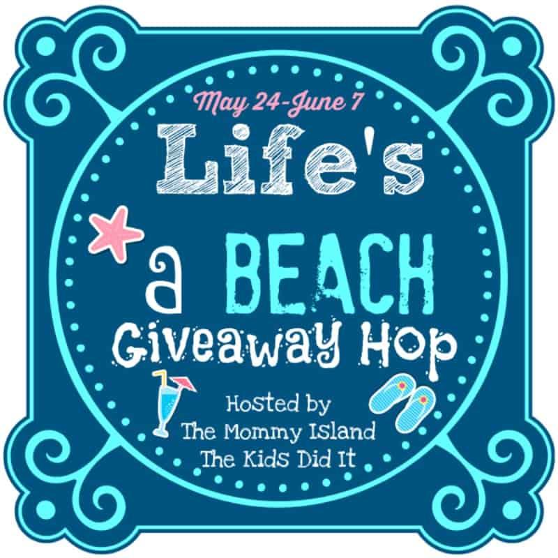 Life's a Beach giveaway Hop button