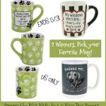 #Win a Fun Dog Mug - Pick Your Favorite! 2 WINNERS - ends 5/31 US Only