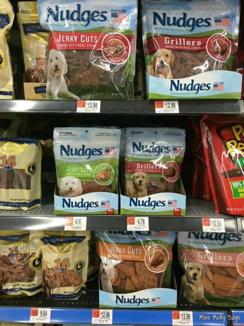 Nudges® Wholesome Dog Treats #NudgeThemBack