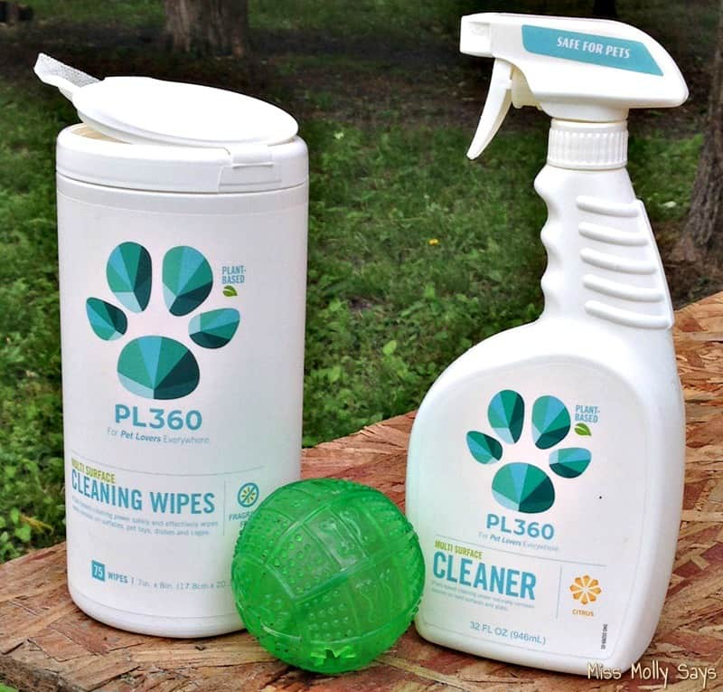 PL360 Natural Cleaning Products for Pet Friendly Spring Cleaning
