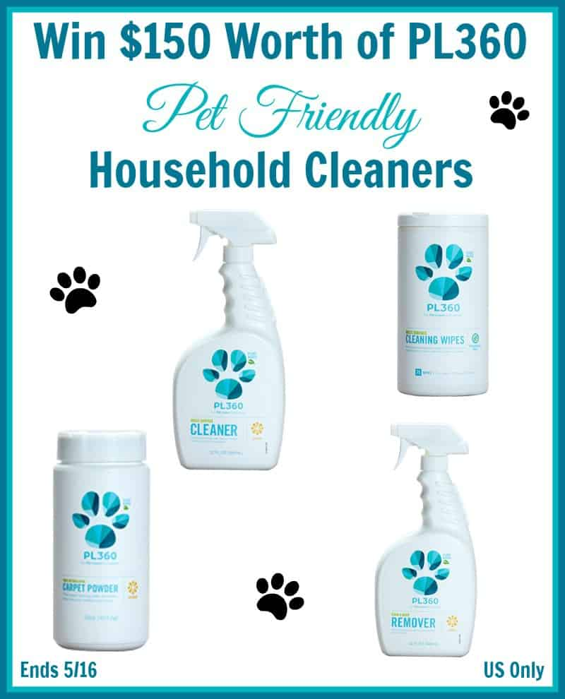 $150 Worth of PL360 Household Cleaners - ends 5/16 - US Only