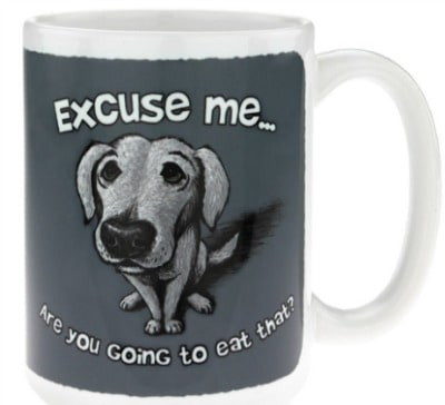 Excuse Me...Are You Going to Eat That Mug