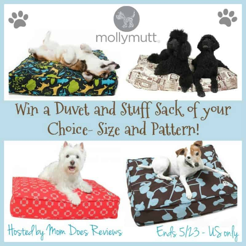 #Win a Molly Mutt Stuff Sack and Duvet Cover in Choice of Size and Pattern! - ends 5/23 US Only