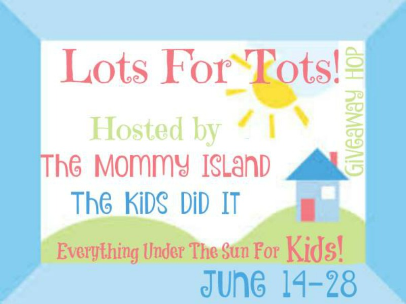 Lots for Tots Giveaway Hop button