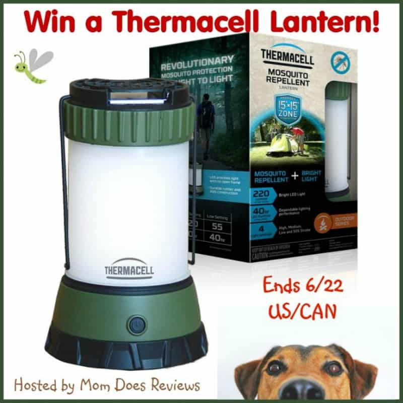 #Win a Thermacell Mosquito Repeller Scout Camp Lantern! - ends 6/22 US/CAN