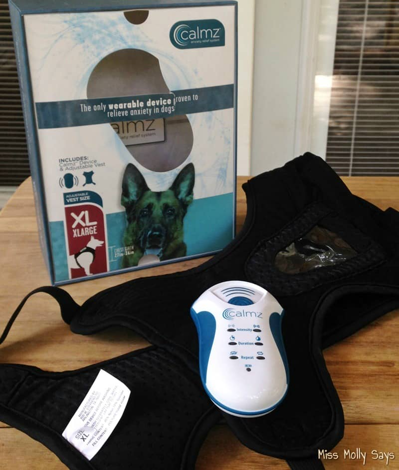 Calmz Anxiety Relief System for Dogs, A Drug Free Solution for Anxiety