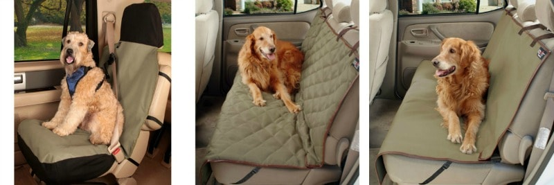 Solvit Pet Seat Cover choices collage