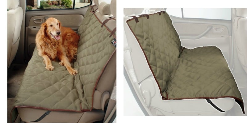 Solvit Sta-Put™ Deluxe Bench Seat Cover collage