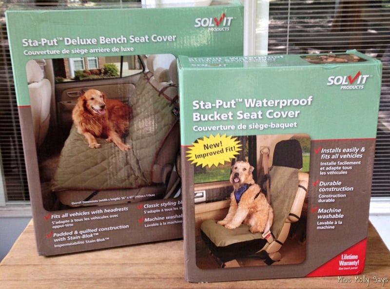 Solvit Pet Seat Covers Because Dogs Love Car Rides!