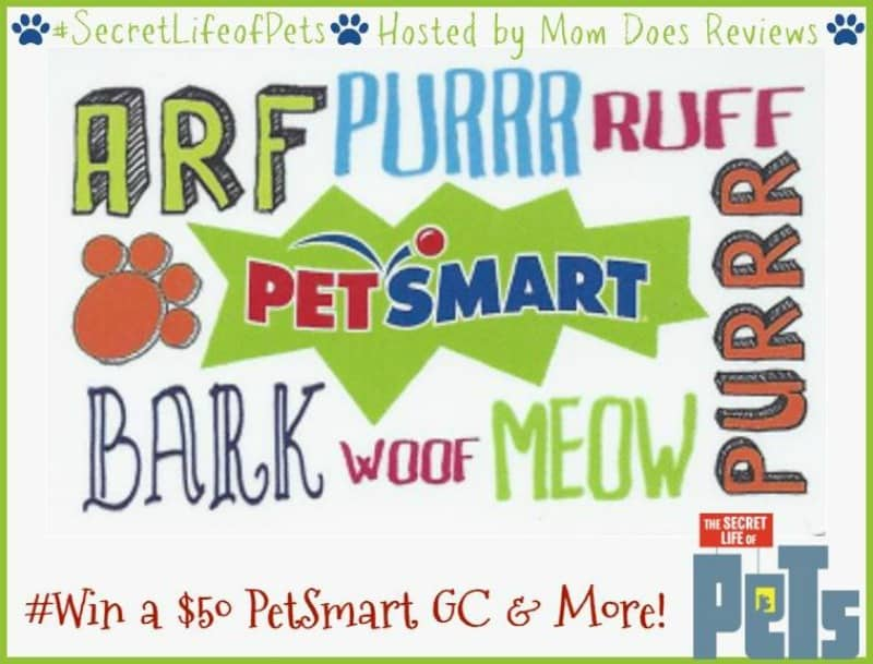 #Win a PETS Prize Pack including $50 PetSmart GC! - ends 7/16 US Only