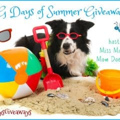 Bloggers Wanted! Sign up for our Dog Days of Summer Giveaway Hop! #DogDaysGiveaways