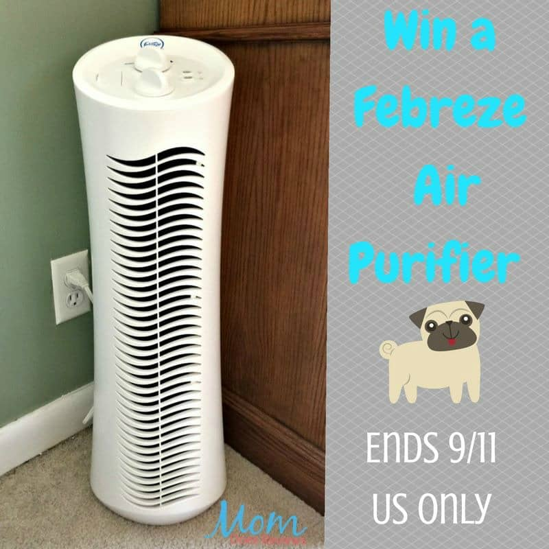 #Win a Febreze Tower Air Purifier (great for people & pets)! - ends 9/11 US Only