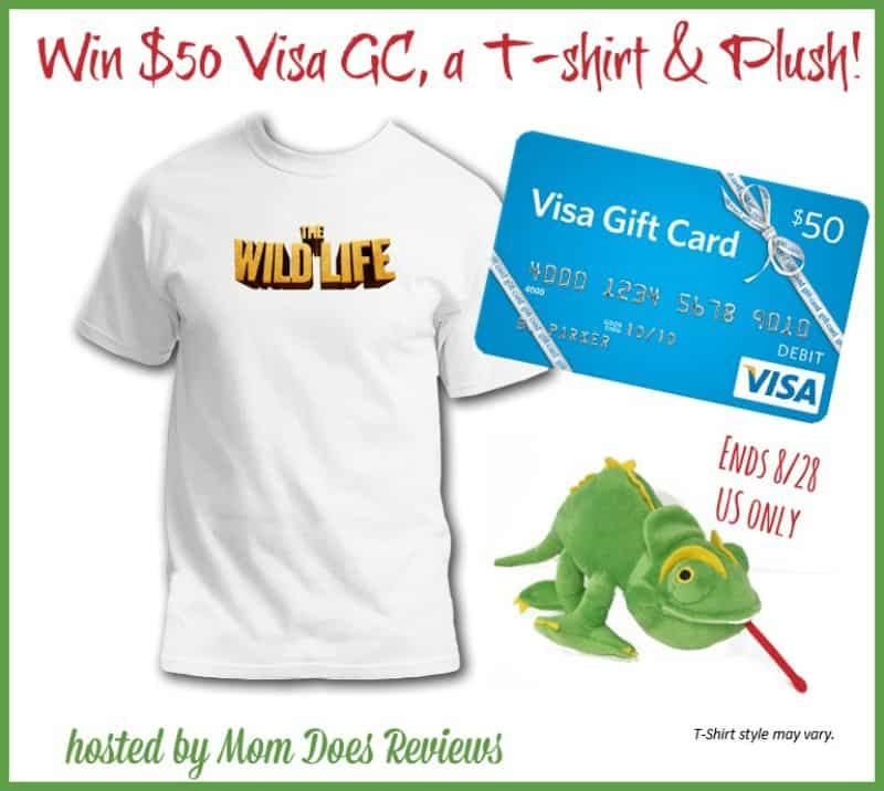 #Win The Wild Life Prize pack including $50 Visa Card! - ends 8/28 US Only