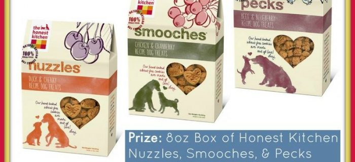 #Win 3 Boxes of Honest Kitchen Treats ($25 value)! – ends 9/8 US Only
