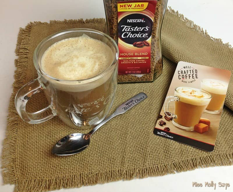 NESCAFÉ® Taster's Choice® Creamy Caramel Latte