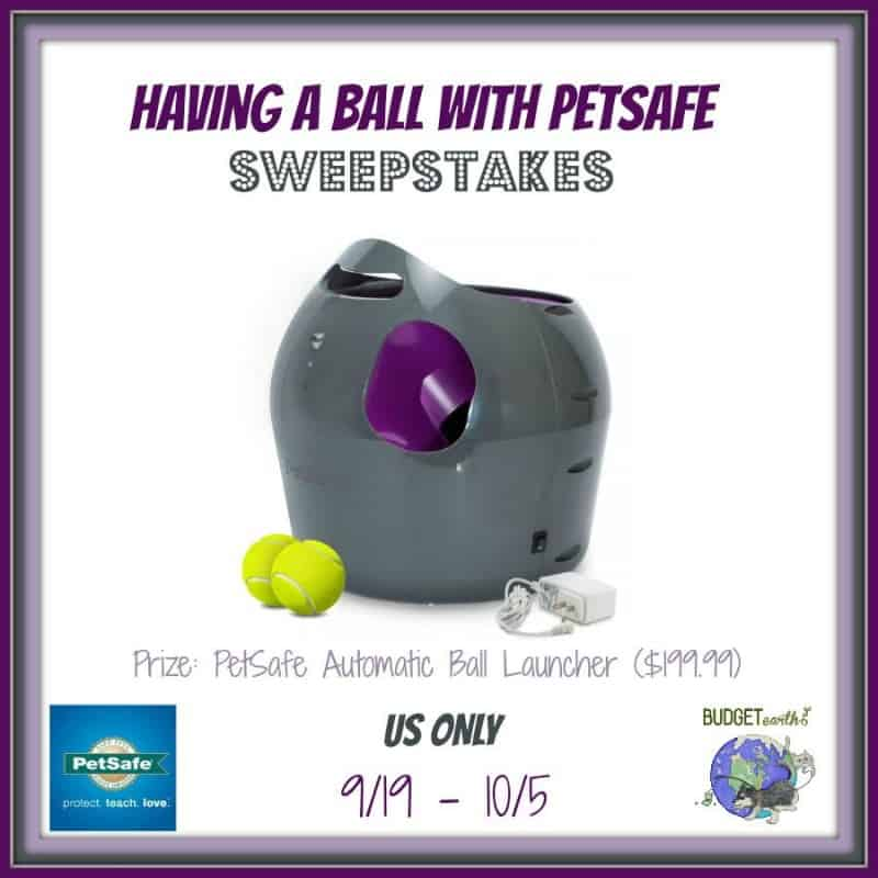 #Win a PetSafe Automatic Ball Launcher (MSRP: $199.99)! – ends 10/5 US Only