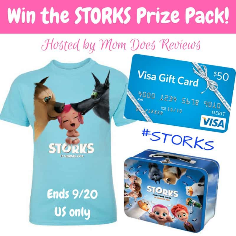 #Win a $50 Visa GC and STORKS Prize Package! - ends 9/20 US Only
