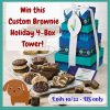 Treats for Fur Moms and Dads! #Win a Custom Holiday 4-Box Tower of Brownie Treats! - ends 10/22 US Only