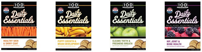 Isle of Dogs Daily Essentials Dog Treats varieties