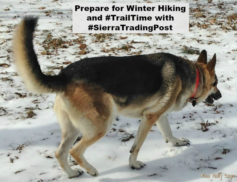Prepare for Winter Hiking and #TrailTime with #SierraTradingPost
