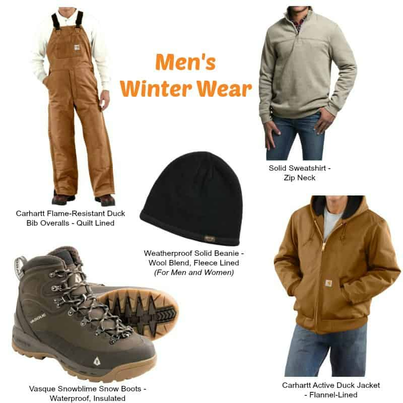 Preparing for Winter Hiking with Sierra Trading Post - Men's Winter Essentials