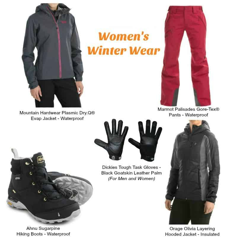 Preparing for Winter Hiking with Sierra Trading Post - Women's Winter Essentials