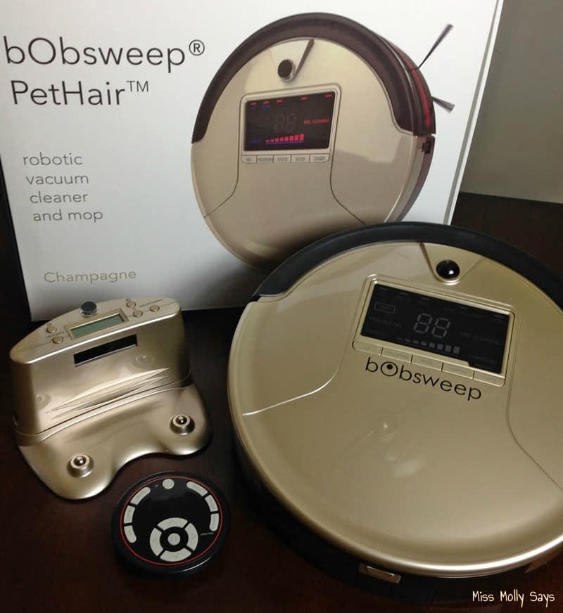 bObsweep PetHair Robotic Vacuum Cleaner