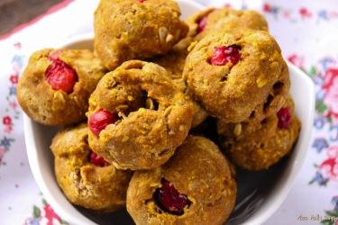 Homemade Cranberry & Pumpkin Dog Treats
