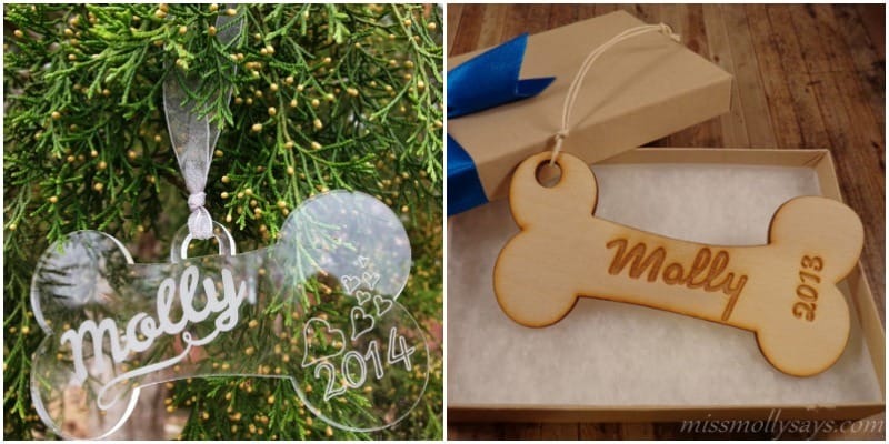 Marked Moments Personalized Ornaments