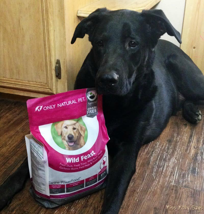 Only Natural pet Canine PowerFood with German Shepherd Lab Mix