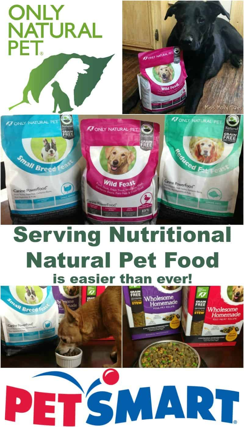 Serving Nutritional Natural Pet Food is Easier Than Ever! #PawNatural
