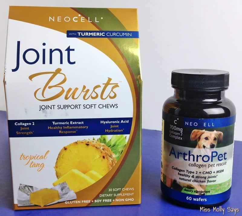 NeoCell ArthroPet and Joint Burst