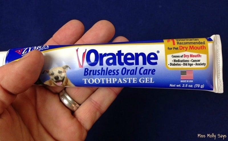 Oratene Brushless Toothpaste Gel