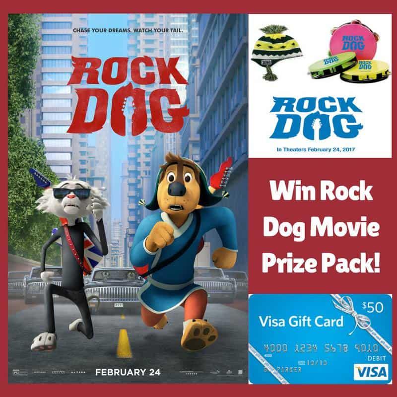 Rock Dog Giveaway Prize Pack