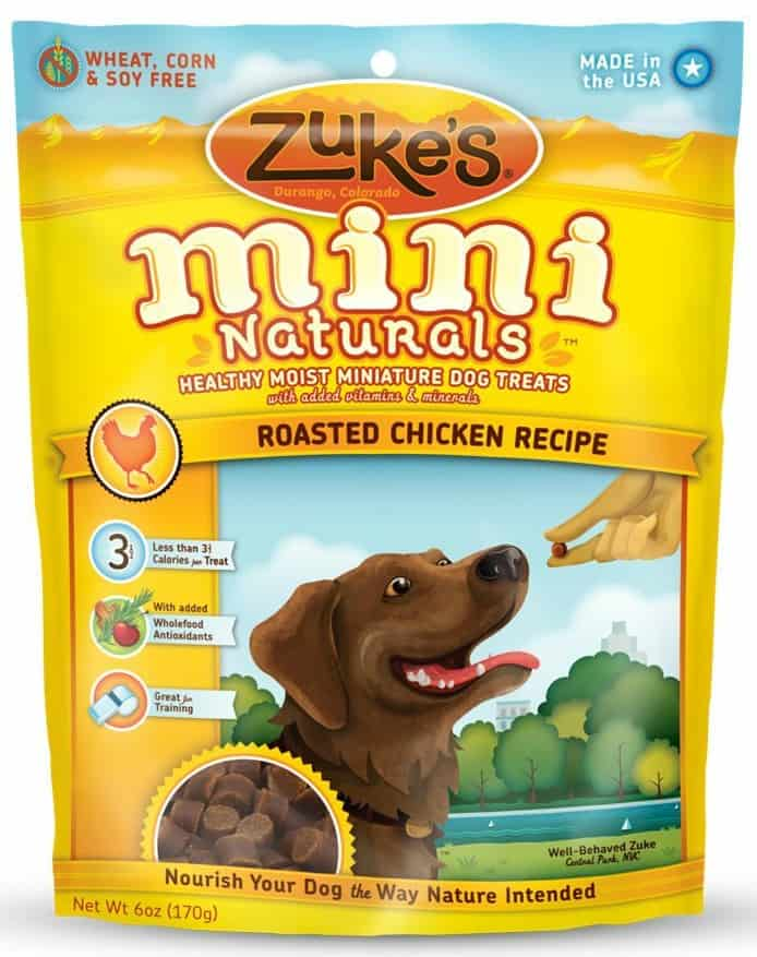 Zuke's Mini Naturals Dog Treats, Roasted Chicken Recipe