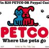 $20 Petco or Paypal Giveaway