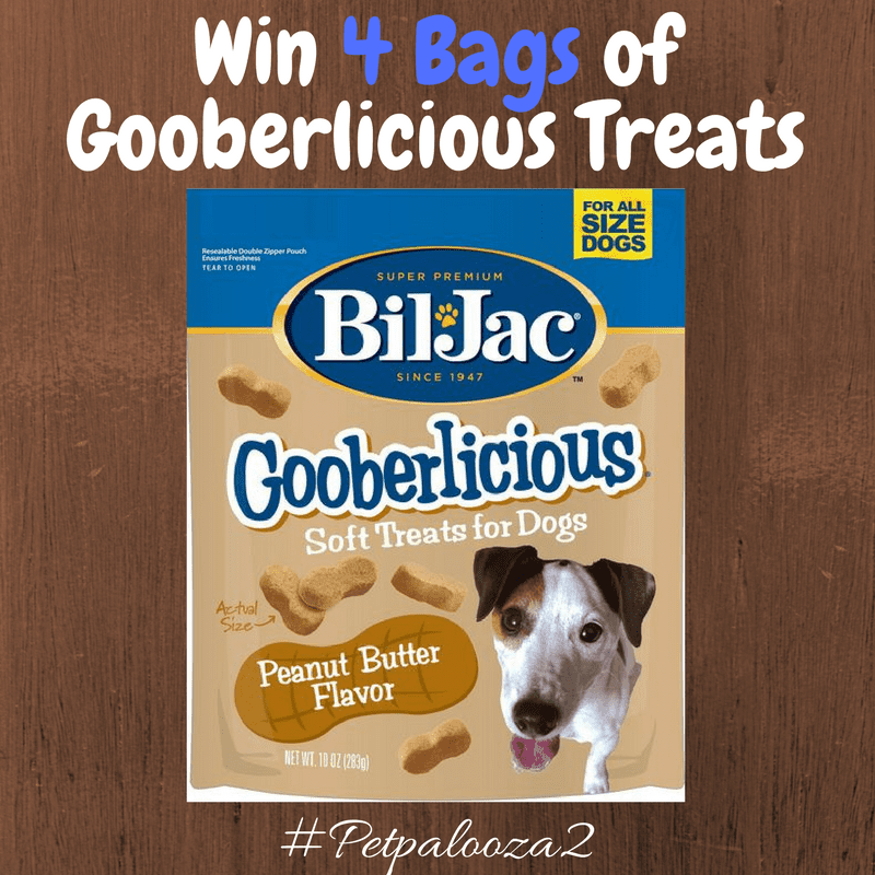 Bil-Jac Gooberlicious Dog Treats Giveaway