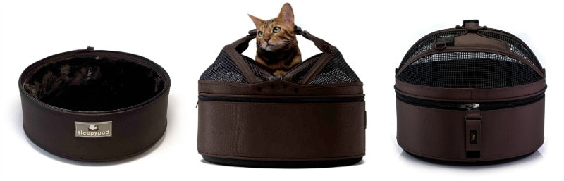Sleepypod Mobile Pet Bed: A Stylish Pet Carrier, Bed, & Car Seat All-In-One