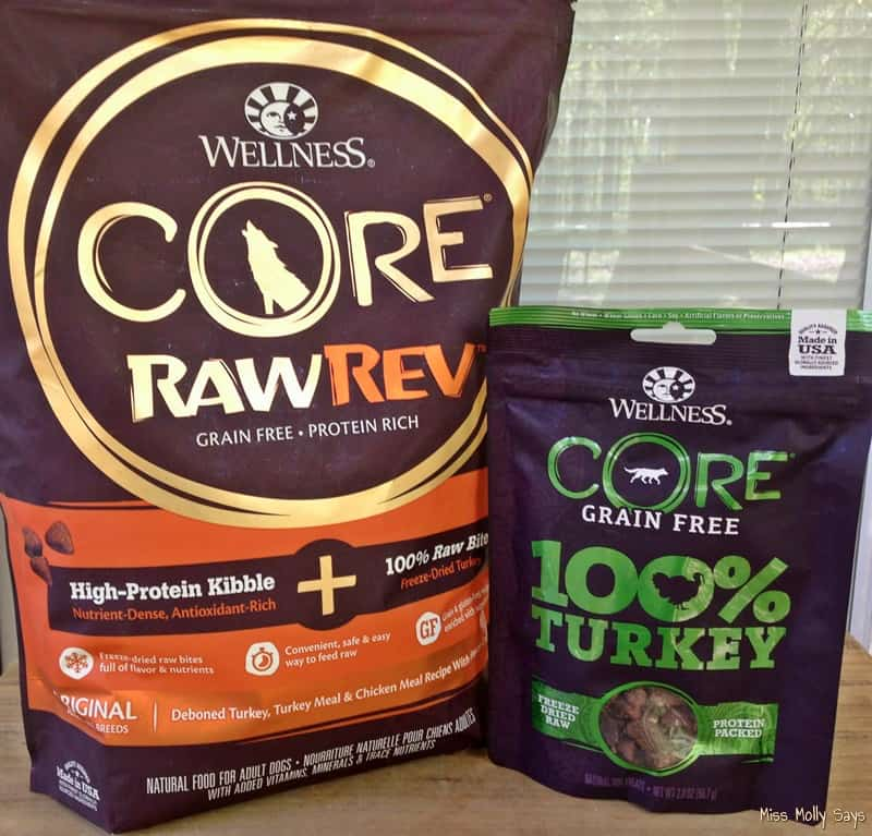 Wellness CORE RawRev Grain Free Dog Food because Good Health Starts with Nutrition