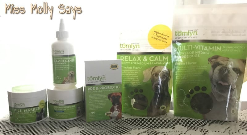 Tomlyn Health and Wellness Products Enrich My Dogs Lives