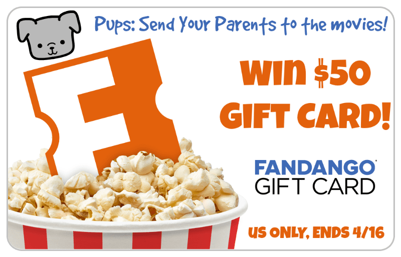 Win a $50 Fandango GC and Give Your Humanz a Night Out at the Movies! US Only Ends 4/16