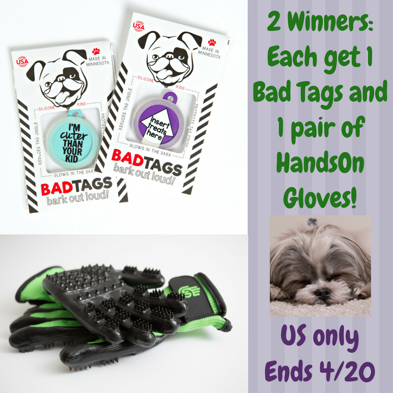 Bad Tag and HandsOn Gloves Giveaway