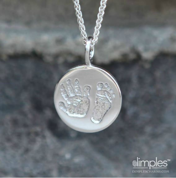 Dimples Necklace and Charm Set