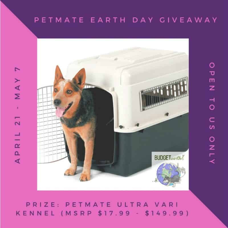 Petmate Ultra Vari Kennel in their choice of size ($17.99 – $149.99) Giveaway! US Only Ends 5/7